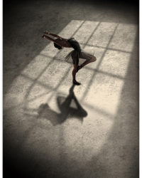 baletka pri okne
