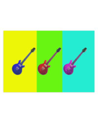 gitara pop art